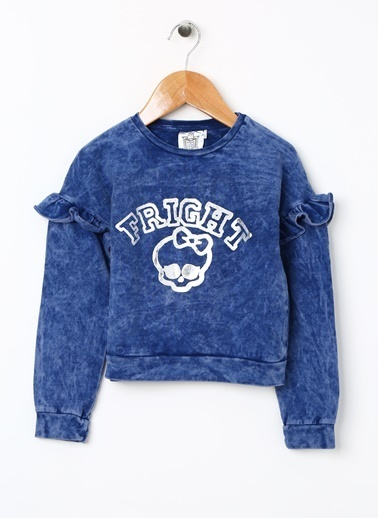 Monster High Sweatshirt Lacivert